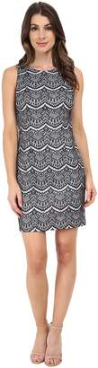 Jessica Simpson Lace Sheath Dress Women's Dress