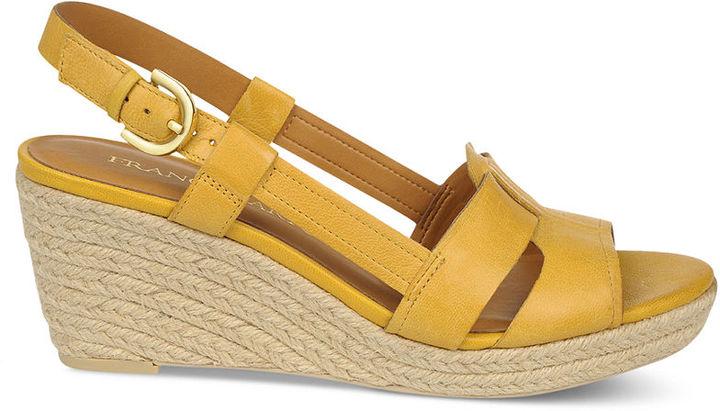Franco Sarto Shoes, Crispin Platform Wedge Sandals