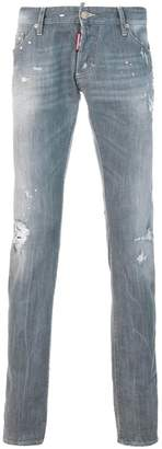 DSQUARED2 distressed Long Clement jeans