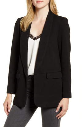 Daniel Rainn Shawl Collar Knit Blazer