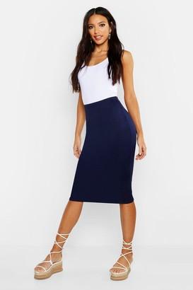 905b0ceaed Navy Circle Skirt - ShopStyle UK