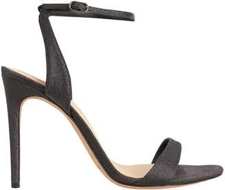 Alexandre Birman Willow Black Lurex Sandals