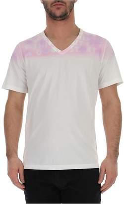 Maison Margiela Printed V-Neck T-Shirt