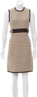 Michael Kors Patterned Knit Mini Dress