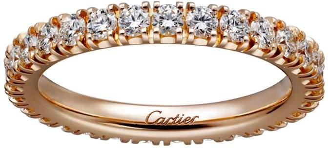 Pink Gold and Diamond Destinée Ring