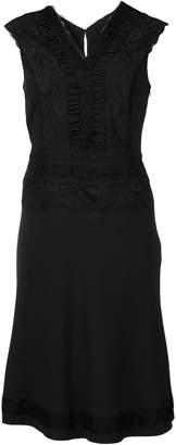 Moschino lace design shift dress