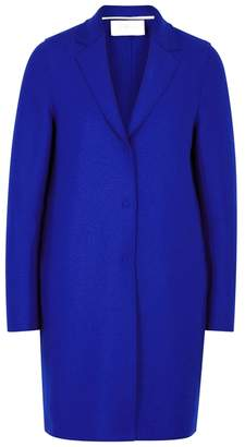 Harris Wharf London Cobalt Blue Wool Coat