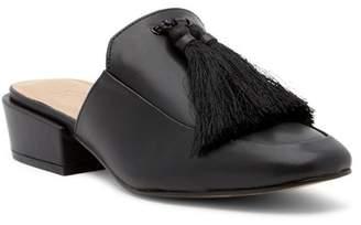Bettye Muller Brea Tasseled Nappa Leather Mule