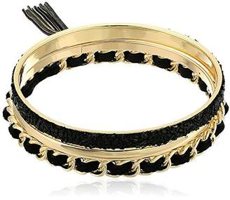 GUESS Trio Hard Bangle Bracelet