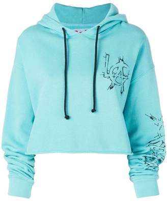 Adaptation LA cropped hoodie
