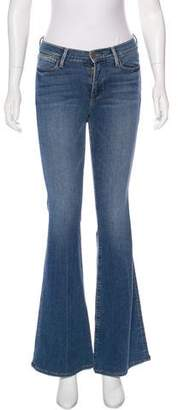 Frame Le Flare Mid-Rise Jeans