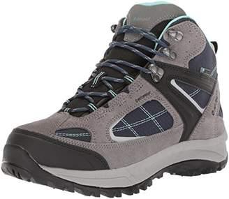 Hi-Tec Women's Altitude LITE II I Waterproof Hiking Boot, Moon/Insignia Blue/Aquifer, 095M Medium US