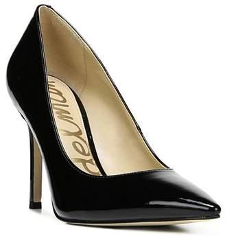 Sam Edelman Women's Hazel Pointed Toe Patent Leather High-Heel Pumps