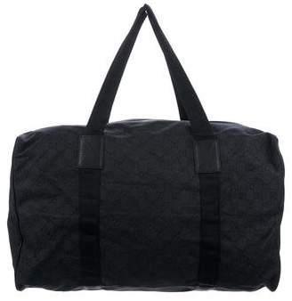 Gucci GG Denim Duffel Bag
