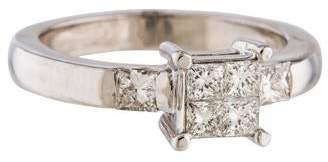 Ring 18K Diamond Cocktail