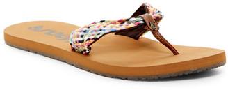 Reef Mallory Scrunch Sandal (Women) $29 thestylecure.com