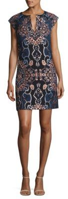 Laundry by Shelli Segal Jacquard Shift Dress $195 thestylecure.com