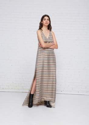 Rosetta Getty Twist Back Gown