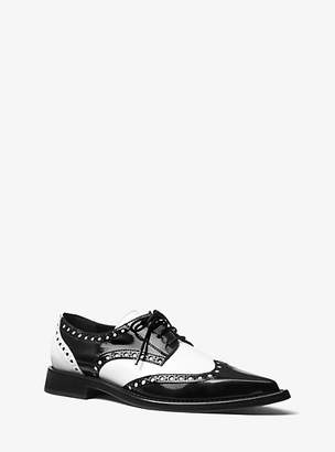 Michael Kors Mullens Spazzolato Leather Oxford