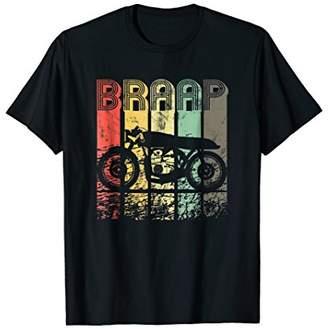 Vintage Cafe Racer Shirt 70s Retro Braap T-Shirt Tee Gift