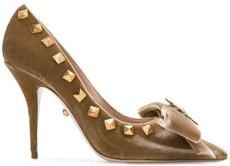 Fausto Puglisi studded pumps