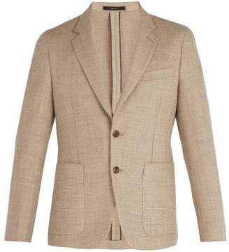 Paul Smith Single Breasted Wool Blend Blazer - Mens - Beige