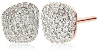 Monica Vinader Nura Nugget Stud Earrings