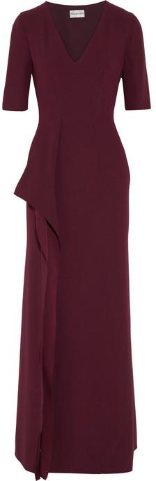 philosophy Draped crepe maxi dress