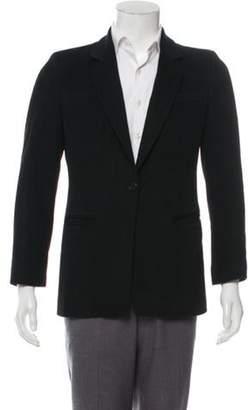 Armani Collezioni Cashmere Notch-Lapel Blazer black Cashmere Notch-Lapel Blazer