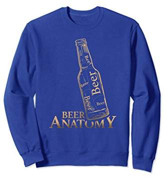 Diversity Craft Anatomy of Beer Lovers Drinking Sweatshirt