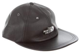 The North Face x Supreme Leather Baseball Hat w/ Tags
