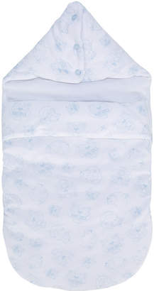 Kenzo logo print blanket
