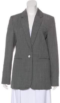 Michael Kors Wool Pinstripe Blazer