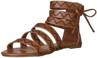 Qupid Women's Jamilla-13 Gladiator Sandal