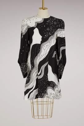 Chloé Face print mini dress