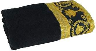 Versace Barocco & Robe Printed Bath Towel