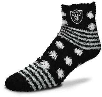 For Bare Feet Oakland Raiders Homegater Sleep Soft Socks