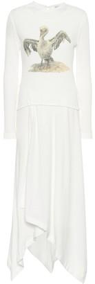Loewe Printed stretch jersey dress