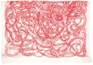 Barbara Bui White Synthetic Scarves
