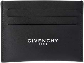 Givenchy Logo Print Card Holder
