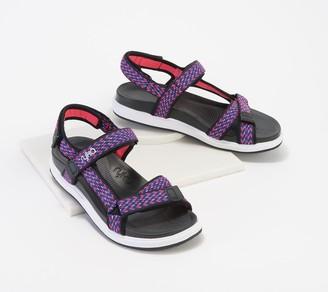 Ryka Adjustable Back-Strap Sport Sandals - Lapis
