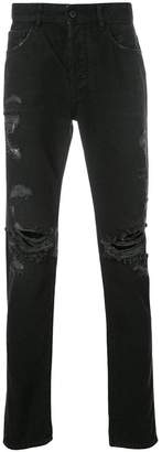 Marcelo Burlon County of Milan Wing slim-fit jeans