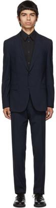 BOSS Blue Virgin Novan Ben Check Suit