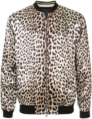 3.1 Phillip Lim leopard print bomber jacket