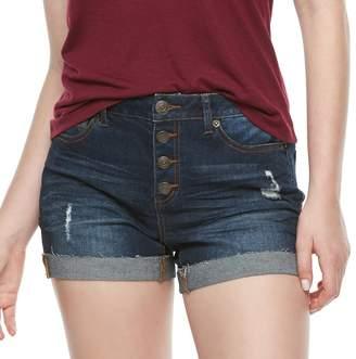Mudd Juniors' High Rise Button Fly Shorts