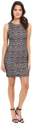 Jessica Simpson Bonded Lace Dress Women's Dress