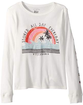 Billabong Kids Stoked All Day Tee Girl's T Shirt
