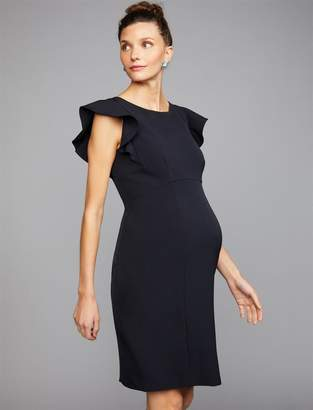 4bcbcacc21664 Cap Sleeve Maternity Dress - ShopStyle