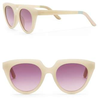 Toms Lourdes 50mm Cat Eye Sunglasses