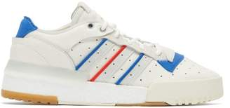 adidas Rivalry Rm Leather Trainers - Mens - White